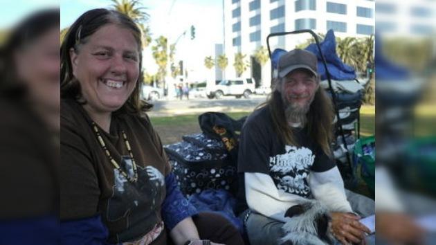 Las personas sin hogar en EE. UU. se 'convierten' en zonas de wifi gratis