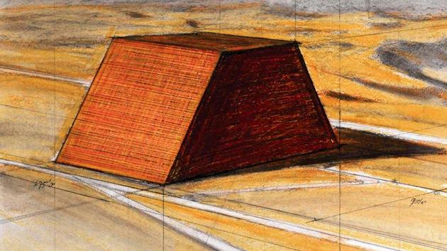 Escultura más grande de la historia: Abu Dabi levantará una pirámide de petróleo, que superará a la de Giza