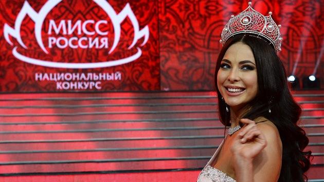 Rusia elige a su reina de la belleza