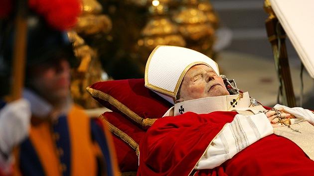 Cadaver de Juan Pablo II