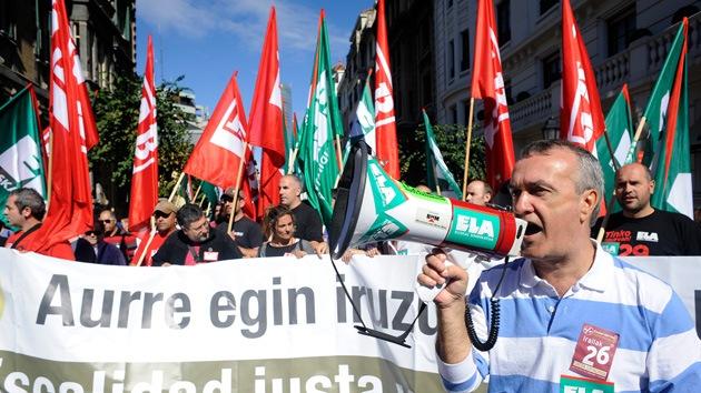 Sindicatos de varios países se unirán el 14-N en una huelga europea contra los recortes
