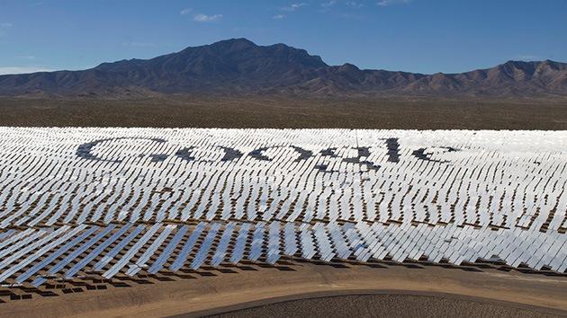 Luces y sombras de la planta solar de Google