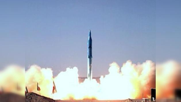 El alcance del misil iraní Sejjil-2 supera los 2.000 km.