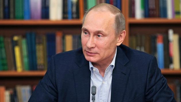 Vladímir Putin es el político número uno, según una encuesta mundial de medios
