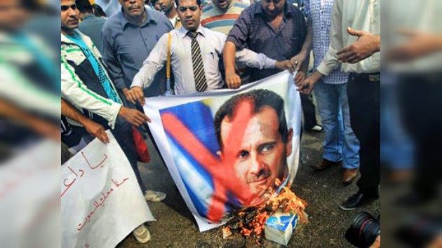 Occidente provoca a la oposición siria para derrocar a Al Assad
