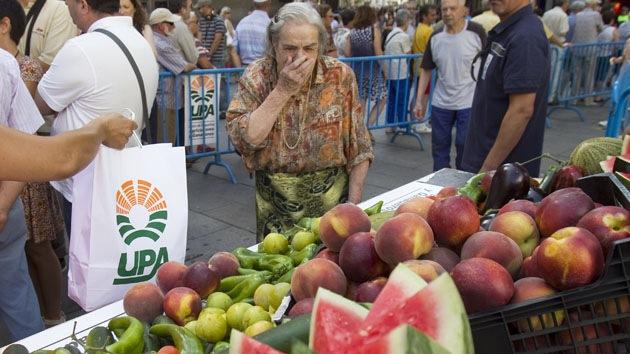 """""""Nos sentimos desahuciados"""": Agricultores españoles piden otra respuesta al embargo ruso"""