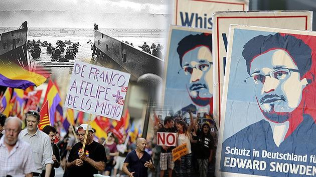 Balance semanal: Abdica el Rey de España, un año de era Snowden y 70 aniversario del Día D