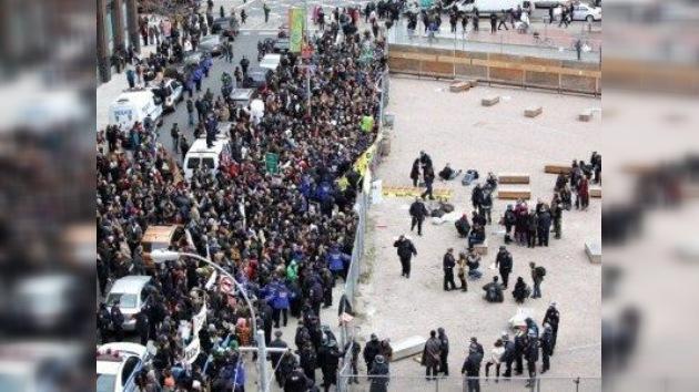3 meses de ´Ocupa Wall Street´: nuevas protestas y nuevas detenciones