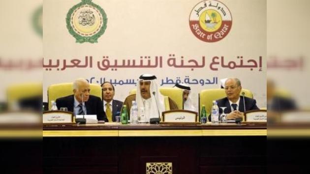 Damasco acepta la entrada de la misión de la Liga Árabe