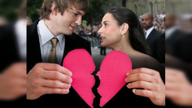 Un divorcio multimillonario: Demi Moore pone fin a su relación con  Ashton Kutcher