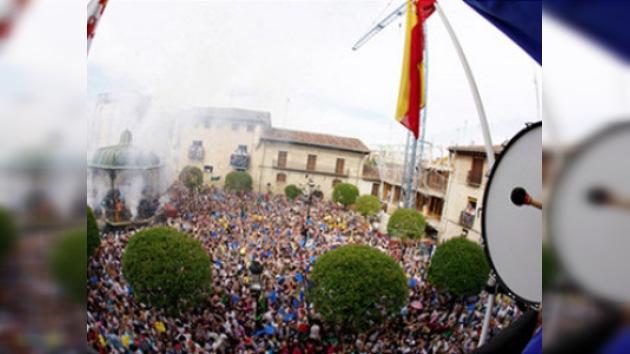 El 'Bombazo' inicia las fiestas de San Juan del Monte