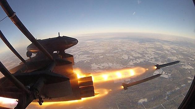 """La Fuerza Aérea rusa recibe un nuevo misil que se describe como """"el mejor en su clase"""""""