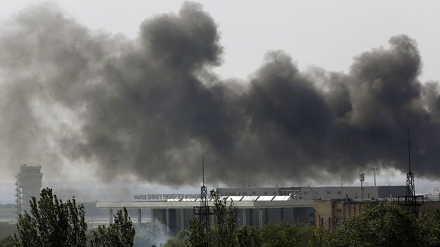 """Filtran un diálogo de pilotos que bombardeaban Donetsk: """"Usaré proyectiles más grandes"""""""