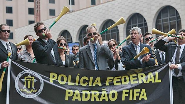 La Policía Federal de Brasil convoca una huelga de dos días