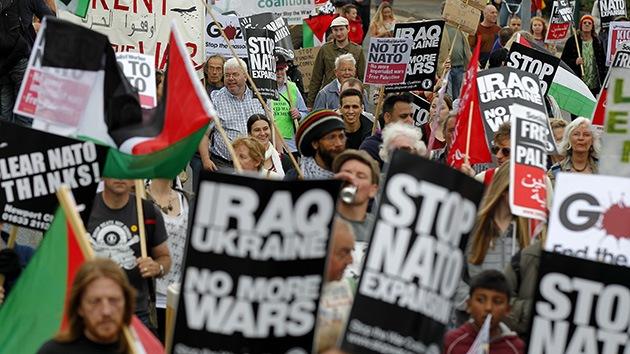Usuarios de Twitter lanzan la etiqueta de protesta #StopNATO
