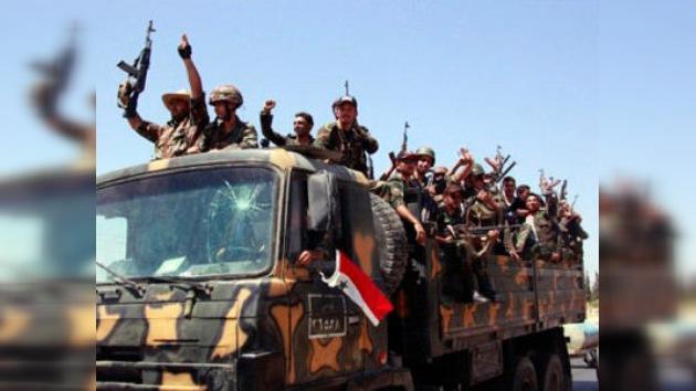 El Ejército sirio controla Rastan tras intensos combates