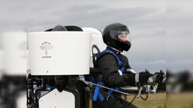 Una 'mochila voladora' alcanza los 1.500 metros de altura