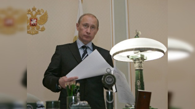 Así es el señor Vladímir Putin