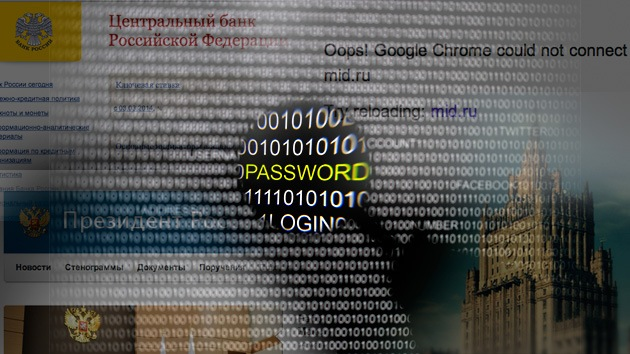 'Hackers' atacan los sitios web del Ministerio ruso de Exteriores y del Kremlin