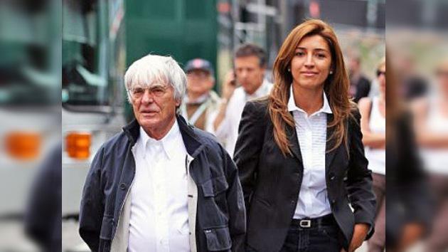 A mil por hora: el presidente de la F1 se casa por tercera vez a sus 81 años