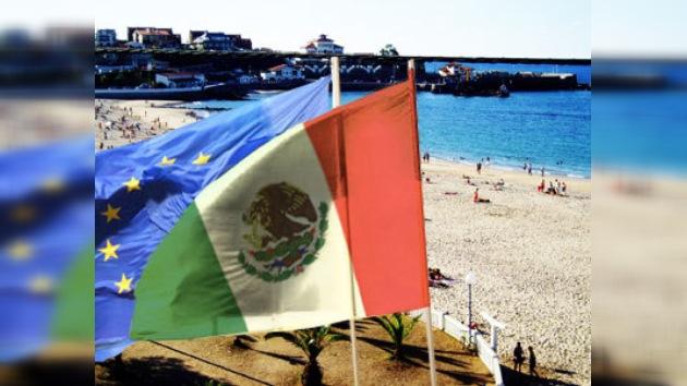 México y España permutan banderas en Cantabria