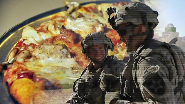 EE.UU. crea para sus soldados una pizza 'blindada' ante las bacterias que dura 3 años