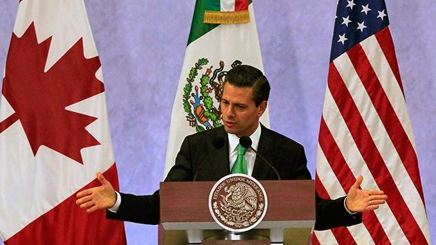 """Peña Nieto, """"indignado"""" por las numerosas deportaciones de mexicanos en EE.UU."""