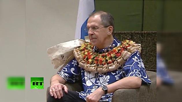 Fiyi recibe calurosamente al canciller ruso Lavrov