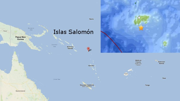 Salomón padece su segundo sismo de gran intensidad en una semana