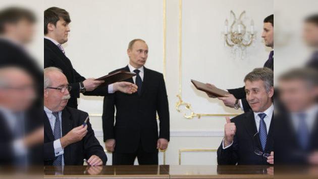 Rusia y Francia entran en una alianza estratégica