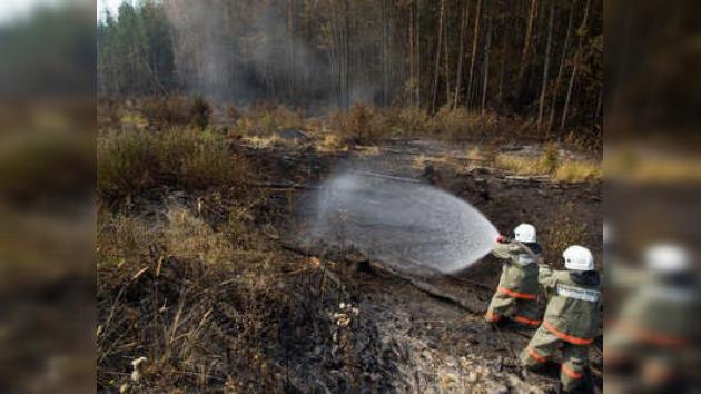 En Rusia procedieron a inundar turberas para combatir incendios