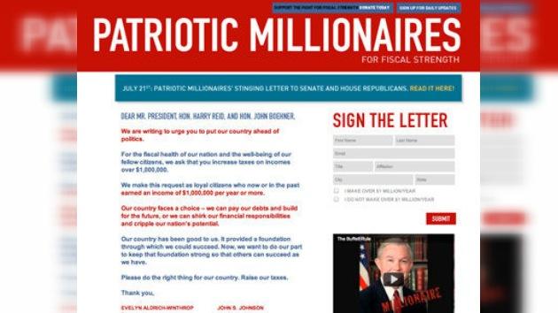 Algunos millonarios de EE. UU. piden pagar más impuestos para superar la crisis