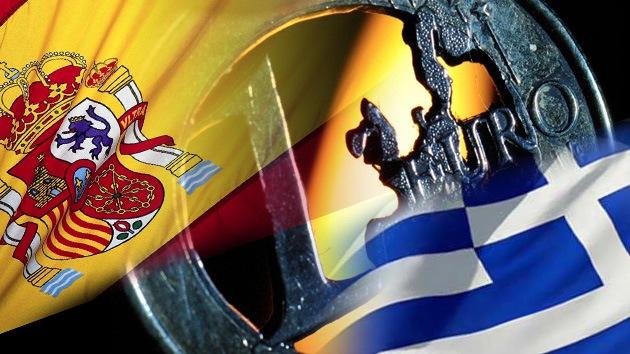 'España abandonará el euro antes que Grecia'