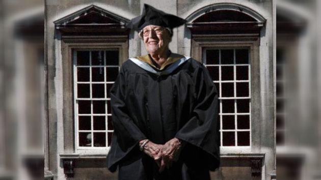 Graduarse a los 94 años