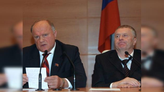 Ya son cuatro los candidatos registrados para las presidenciales rusas