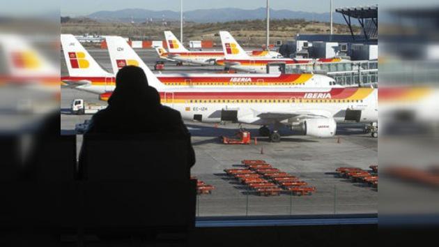 Cancelados más de 200 vuelos de Iberia por la huelga de pilotos