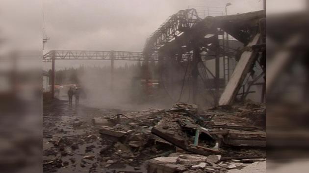 17 socorristas murieron en la mina Raspádskaya