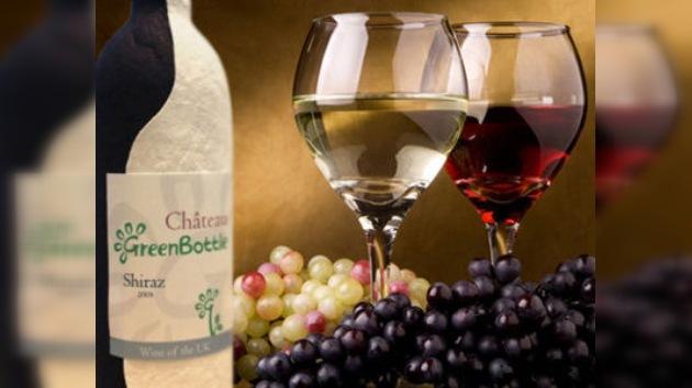 Botellas de vino de papel, a la venta en 2012