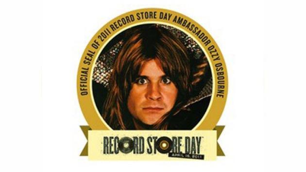 Ozzy Osbourne, embajador del Día de la Tienda Musical