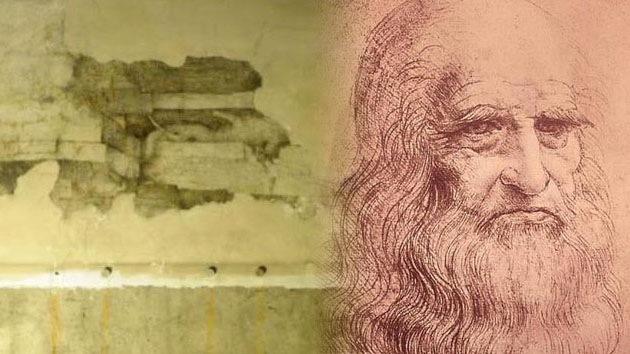Descubrimiento histórico: Hallan un mural pintado por Leonardo da Vinci