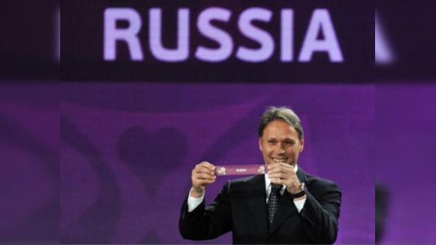 Rusia, en el grupo más asequible de la Eurocopa 2012