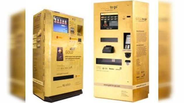 Inauguran en los Emiratos Árabes una máquina dispensadora de oro