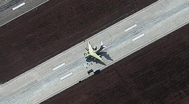 Satélites 'cazan' misterioso avión chino