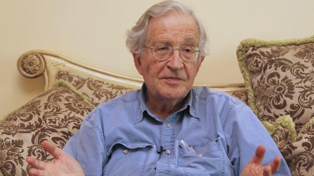 Foto 0 en  - Chomsky: El pacto Transpac�fico de Obama es un asalto neoliberal de dominio corporativo