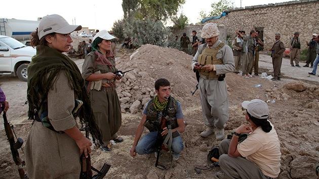 Un grupo kurdo tachado de terrorista por EE.UU. ayuda a frenar al Estado Islámico