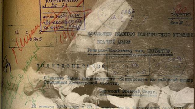 Rusia desclasifica archivos sobre actuación de nacionalistas en Ucrania en apoyo de Hitler