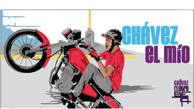 Chávez rapero, motero y deportista, para conquistar a la juventud venezolana
