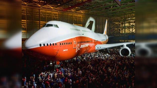 Presentan el Boeing 747-8 Intercontinental, alternativa al Airbus 380