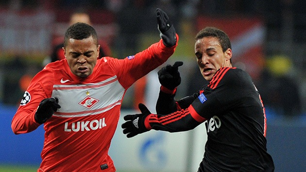 Primera victoria del Spartak en la Liga de Campeones