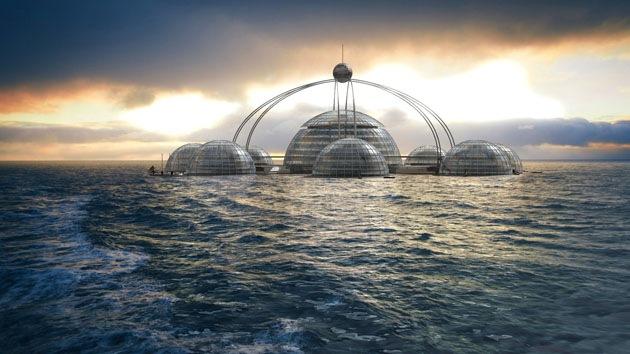 ¿Podría vivir bajo el agua? Crean el proyecto de una ciudad submarina autosuficiente